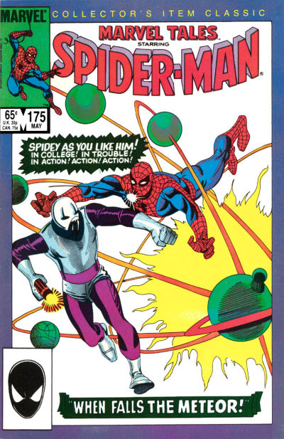 Cover for Marvel Tales (1966 series) #175 [Newsstand Edition]