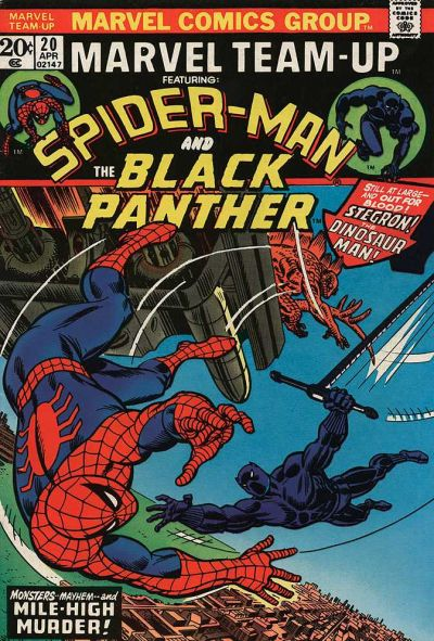 Cover for Marvel Team-Up (Marvel, 1972 series) #20