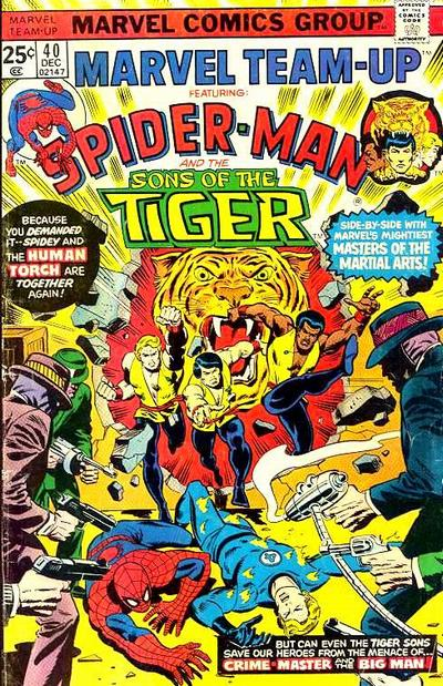 Cover for Marvel Team-Up (Marvel, 1972 series) #40
