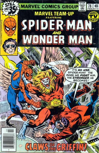 Cover for Marvel Team-Up (Marvel, 1972 series) #78