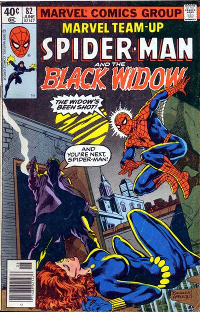 Cover for Marvel Team-Up (Marvel, 1972 series) #82 [direct edition]