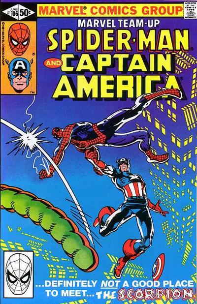 Cover for Marvel Team-Up (Marvel, 1972 series) #106