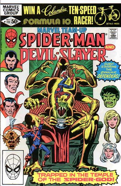 Cover for Marvel Team-Up (Marvel, 1972 series) #111 [Newsstand Edition]
