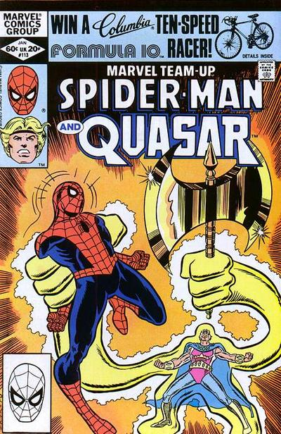 Cover for Marvel Team-Up (Marvel, 1972 series) #113 [Newsstand Edition]