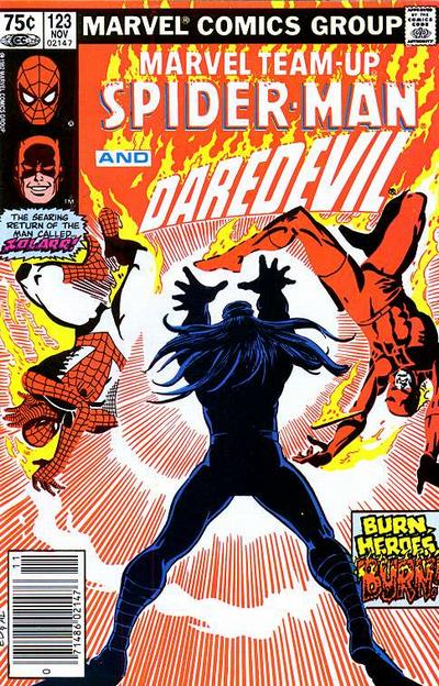 Cover for Marvel Team-Up (Marvel, 1972 series) #123 [Direct Edition]