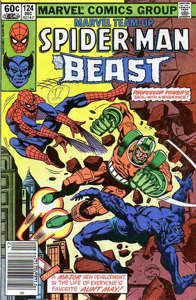 Cover for Marvel Team-Up (1972 series) #124 [Newsstand]