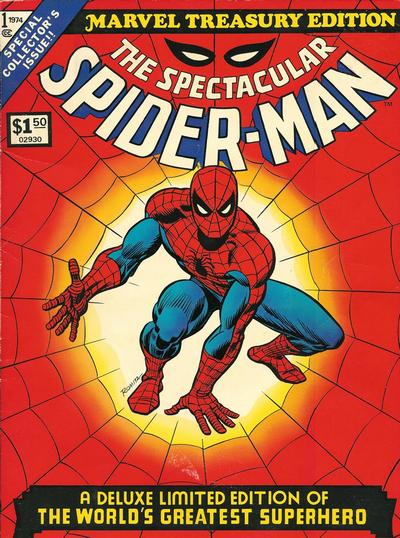 Cover for Marvel Treasury Edition (Marvel, 1974 series) #1