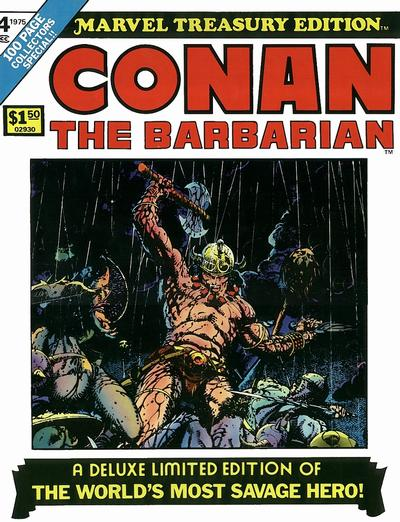 Cover for Marvel Treasury Edition (1974 series) #4