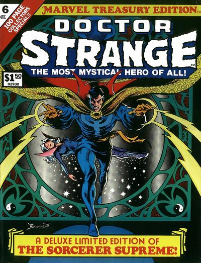 Cover for Marvel Treasury Edition (Marvel, 1974 series) #6 [Regular Edition]