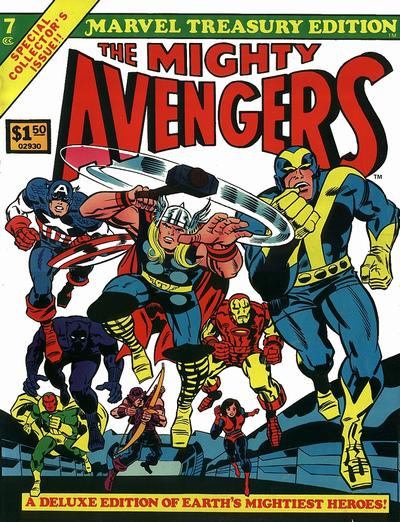 Cover for Marvel Treasury Edition (Marvel, 1974 series) #7 [Regular Edition]