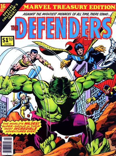 Cover for Marvel Treasury Edition (Marvel, 1974 series) #16