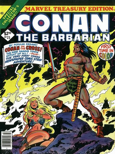 Cover for Marvel Treasury Edition (Marvel, 1974 series) #23