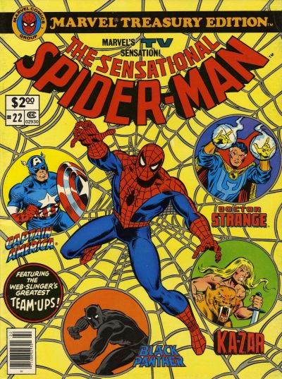 Cover for Marvel Treasury Edition (Marvel, 1974 series) #22