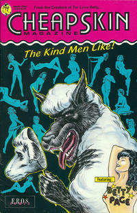 Cover Thumbnail for Cheapskin (Fantagraphics, 1992 series) #1