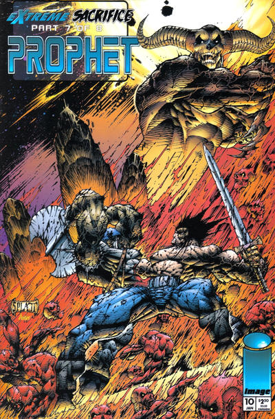 Cover for Prophet (Image, 1993 series) #10