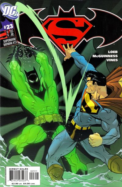 Cover for Superman / Batman (DC, 2003 series) #23