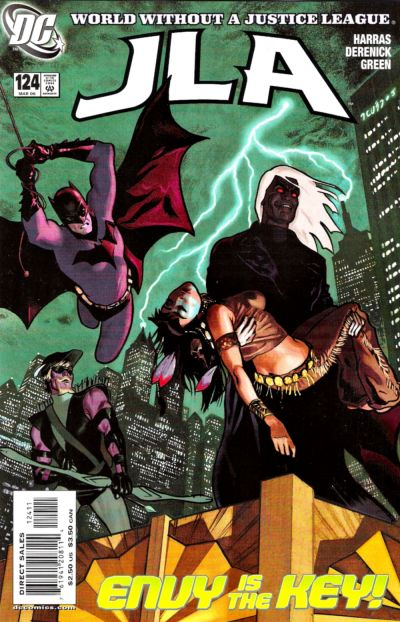Cover for JLA (DC, 1997 series) #124