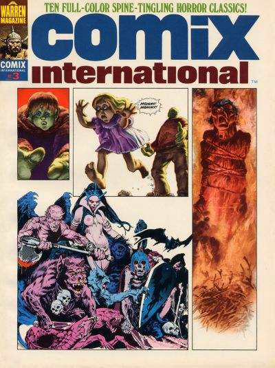 Cover for Comix International (Warren, 1974 series) #3