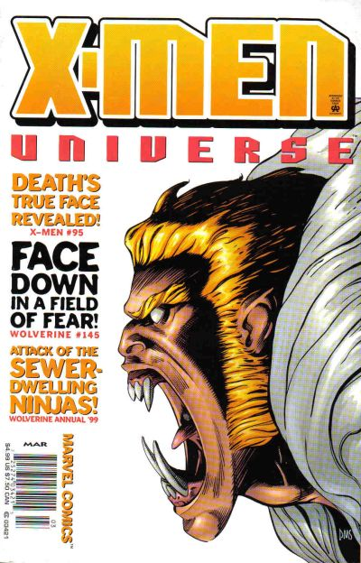 Cover for X-Men Universe (Marvel, 1999 series) #4
