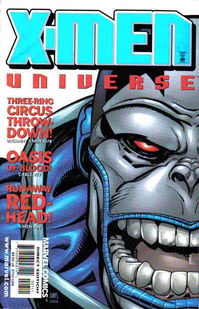 Cover for X-Men Universe (Marvel, 1999 series) #7