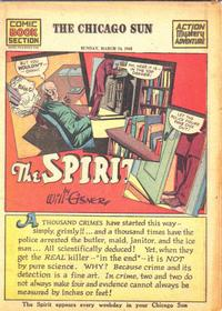 Cover Thumbnail for The Spirit (Register and Tribune Syndicate, 1940 series) #3/14/1943