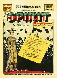 Cover Thumbnail for The Spirit (Register and Tribune Syndicate, 1940 series) #5/10/1942