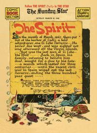 Cover Thumbnail for The Spirit (Register and Tribune Syndicate, 1940 series) #3/22/1942