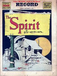 Cover Thumbnail for The Spirit (Register and Tribune Syndicate, 1940 series) #12/14/1941