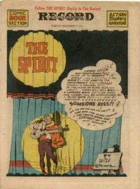 Cover Thumbnail for The Spirit (Register and Tribune Syndicate, 1940 series) #12/7/1941