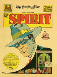 Cover Thumbnail for The Spirit (Register and Tribune Syndicate, 1940 series) #8/25/1940