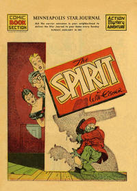 Cover Thumbnail for The Spirit (Register and Tribune Syndicate, 1940 series) #1/19/1941