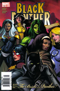 Cover Thumbnail for Black Panther (Marvel, 2005 series) #14 [Direct Edition]