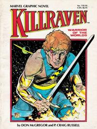 Cover for Marvel Graphic Novel (Marvel, 1982 series) #7 - Killraven, Warrior of the Worlds