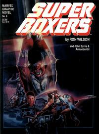 Cover for Marvel Graphic Novel (Marvel, 1982 series) #8 - Super Boxers