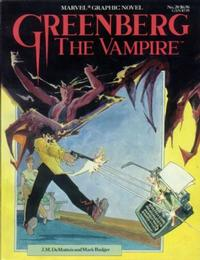 Cover Thumbnail for Marvel Graphic Novel (Marvel, 1982 series) #20 - Greenberg the Vampire