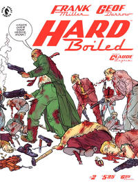 Cover Thumbnail for Hard Boiled (Dark Horse, 1990 series) #2