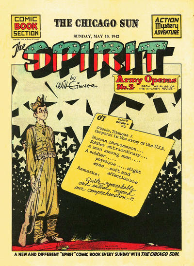 Cover for The Spirit (1940 series) #5/10/1942