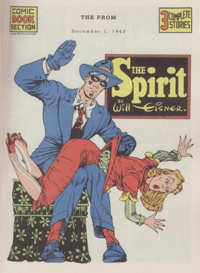 Cover for The Spirit (Register and Tribune Syndicate, 1940 series) #12/1/1940