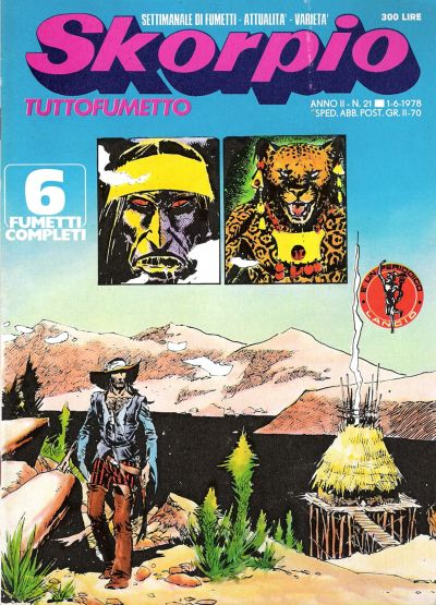 Cover for Skorpio Anno II (1978 series) #21