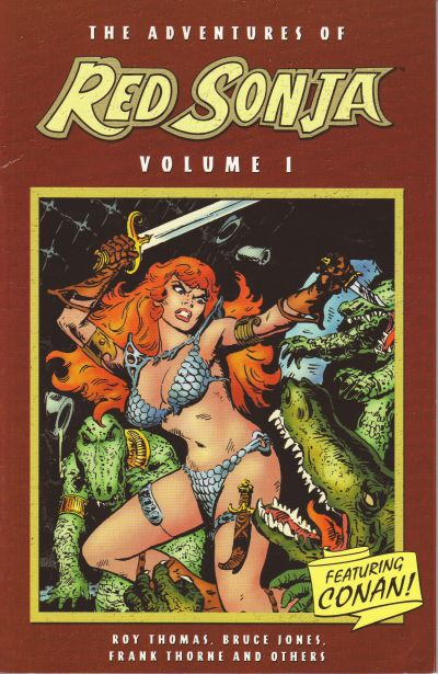 Cover for The Adventures of Red Sonja (Dynamite Entertainment, 2005 series) #1 [Gil Kane Cover]