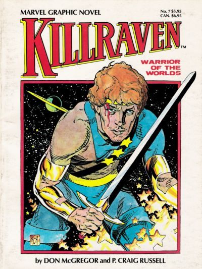 Cover for Marvel Graphic Novel (1982 series) #7 - Killraven, Warrior of the Worlds