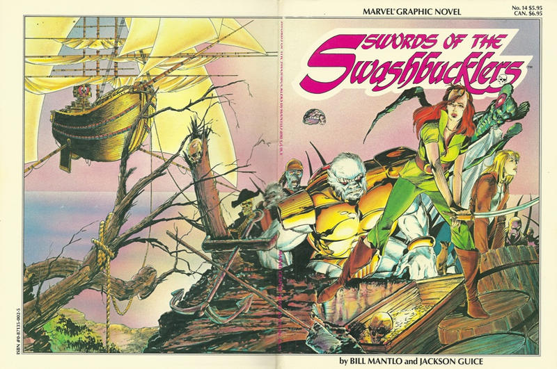 Cover for Marvel Graphic Novel (Marvel, 1982 series) #14 - Swords of the Swashbucklers
