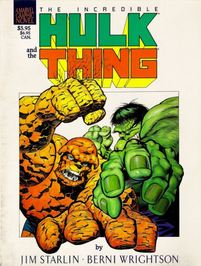 Cover for Marvel Graphic Novel (1982 series) #[29] - The Big Change