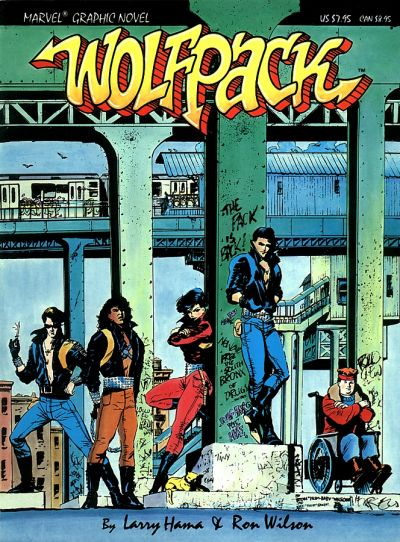 Cover for Marvel Graphic Novel:  Wolfpack (Marvel, 1987 series) #[nn]