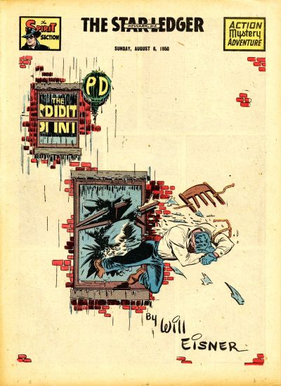 Cover for The Spirit (Register and Tribune Syndicate, 1940 series) #8/6/1950