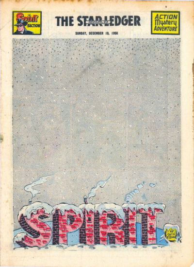 Cover for The Spirit (Register and Tribune Syndicate, 1940 series) #12/10/1950