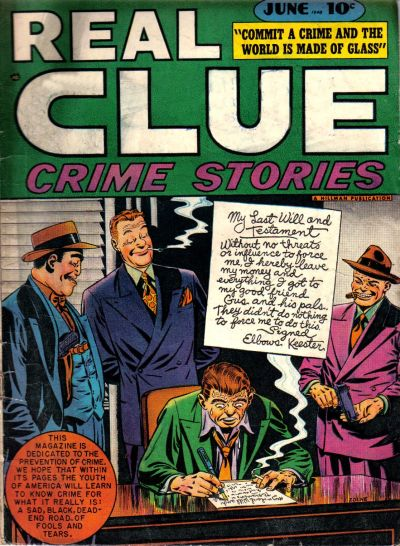 Cover for Real Clue Crime Stories (Hillman, 1947 series) #v3#4 [28]