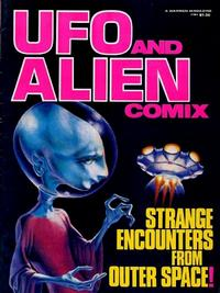 Cover for U.F.O. and Alien Comix [Warren Presents] (1977 series) #[1]