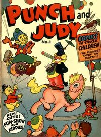 Cover for Punch and Judy Comics (Hillman, 1944 series) #v1#1