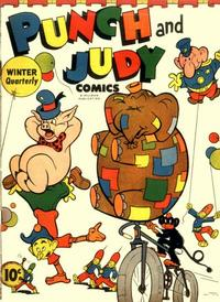 Cover for Punch and Judy Comics (1944 series) #v1#3